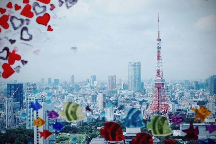 Tokyo Tokyo,Japan Tokyo Tower Japan Fujifilm Fujifilm_xseries FUJIFILM X-T1 X-T1 Tower Building Trip 東京 東京タワー 富士フィルム