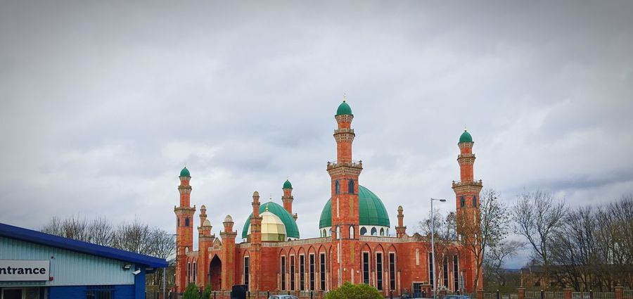 Bradford Mosque Sky