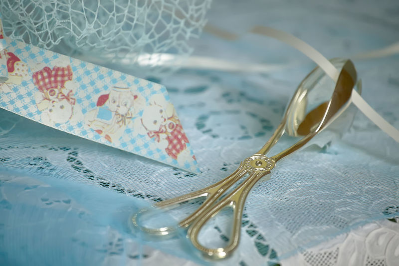Bonbonniere Celebration Close-up Emotion Fashion Floral Pattern Fork Glasses High Angle View Indoors  Jewelry Kitchen Utensil Luxury No People Paper Pattern Personal Accessory Selective Focus Still Life Table Table Knife Tablecloth Textile Wedding