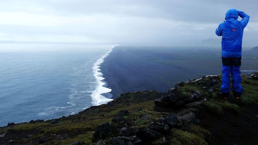 Iceland Black Sand Beach Vík í Mýrdal