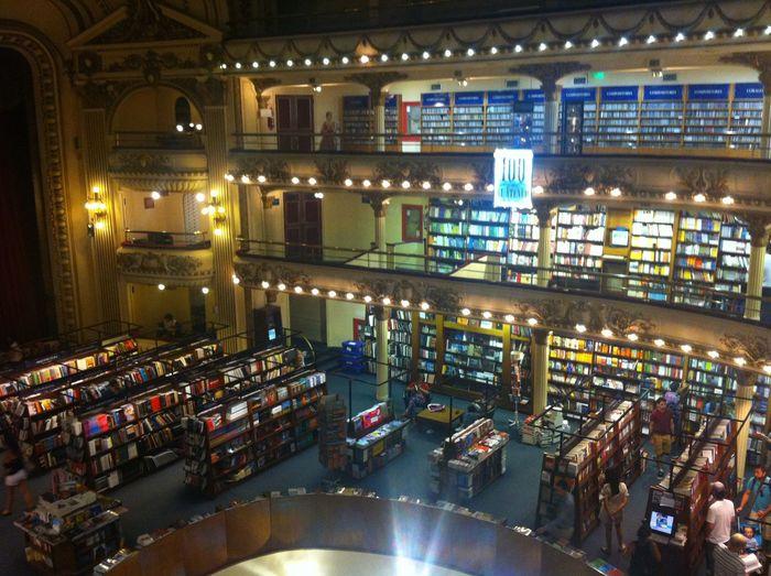 Buenos Aires At El Ateneo Grand Splendid