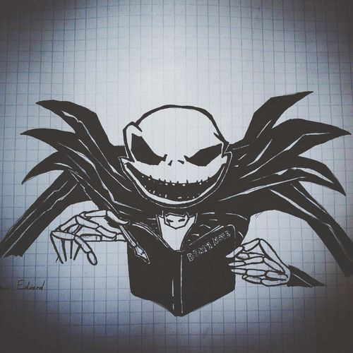 My Draw Drawing Jack Skeletron