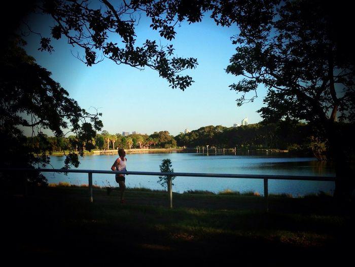 Relaxing Biking Fresh Air