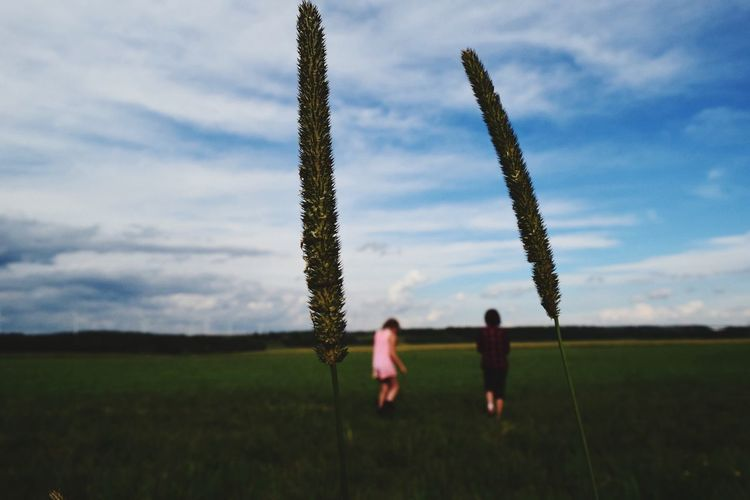 -Two by Two- EyeEm Best Shots EyeEm Best Edits EyeEm Best Shots - Nature EyeEm Best Shots - Landscape Countryside Open Spaces Walking Friendship Between Between Nature Juxtaposition Farm Life Two Is Better Than One