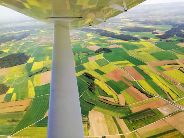 Aerial View Agriculture Beauty In Nature Environment Field Landscape Patchwork Landscape Rural Scene Scenics - Nature