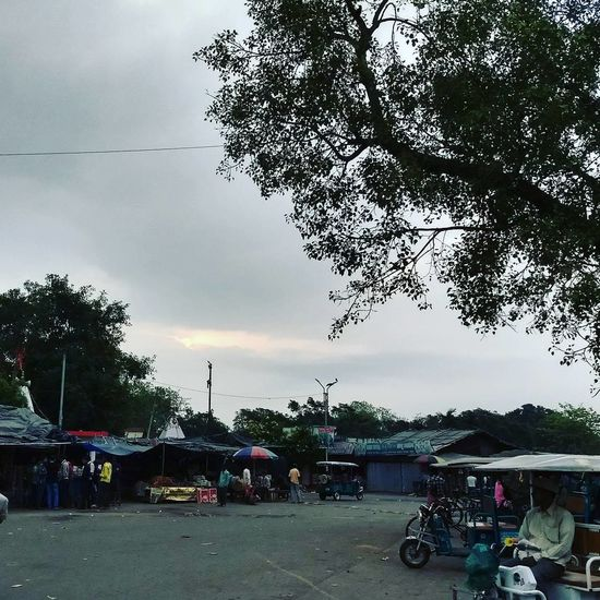 Neighborhood Map Entrance of Malda railway station Cloud - Sky Tree Nature