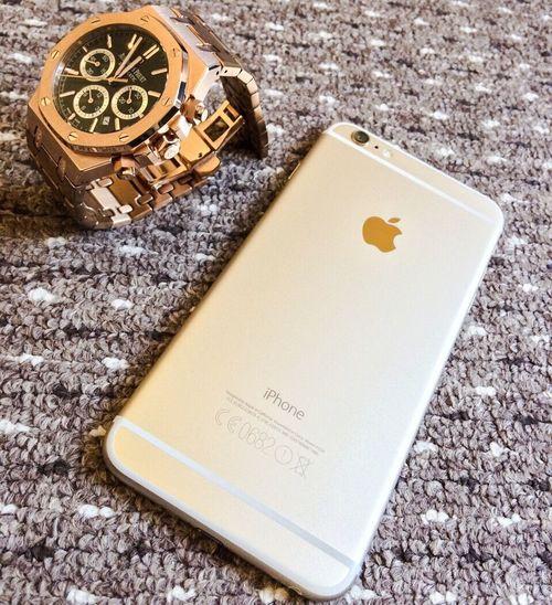 Todaysaccessories Rosegold Audermarspiguet Iphone6plus
