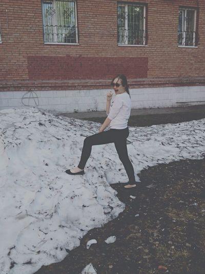 Снег First Eyeem Photo