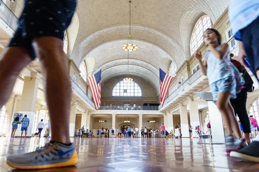 American Ellis Island  New Jersey New York New York City Statue Of Liberty USA Hall History Museum Registration