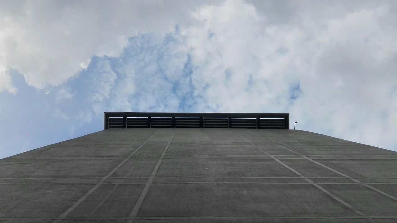 sky, cloud - sky, architecture, built structure, no people, outdoors, low angle view, day, building exterior, nature, city