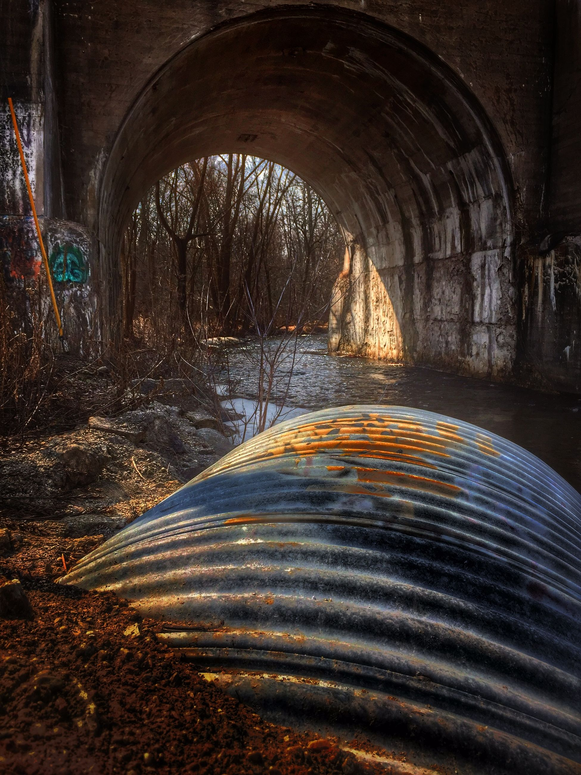 arch, the way forward, built structure, architecture, illuminated, tunnel, diminishing perspective, connection, vanishing point, bridge - man made structure, archway, tree, night, arch bridge, road, long exposure, transportation, no people, bridge, motion