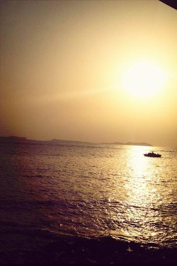 Sun, Sea And A Boat