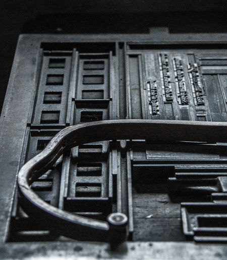 Close-up Communication Day Hand Craft Indoors  Letter Press No People Old Techniques Printing Machine Text