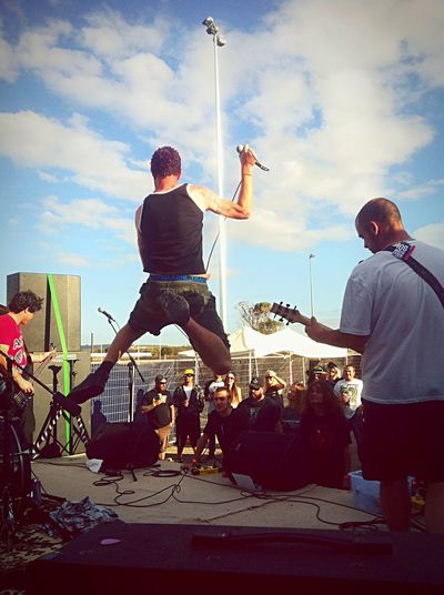 Punkrock No Reality Perfect Shot Rock Your Sox Off Rocking Out No Fucks Given. Bitch Gig Punk Lyfe ;) Yesterday at the Midcoast Meltdown supporting the boys??
