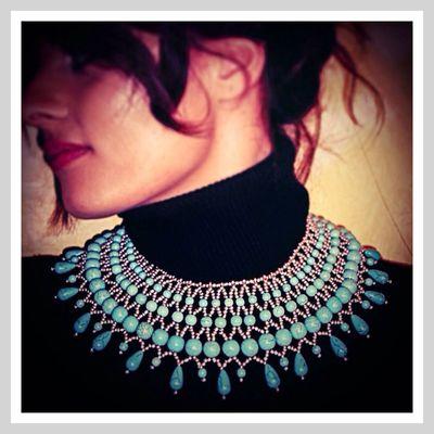 Sara Germani Design - Statement Necklace - Handmade MadeInItaly