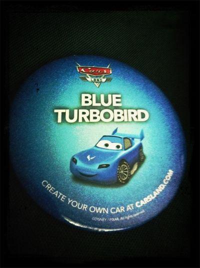 Blue TurboBird