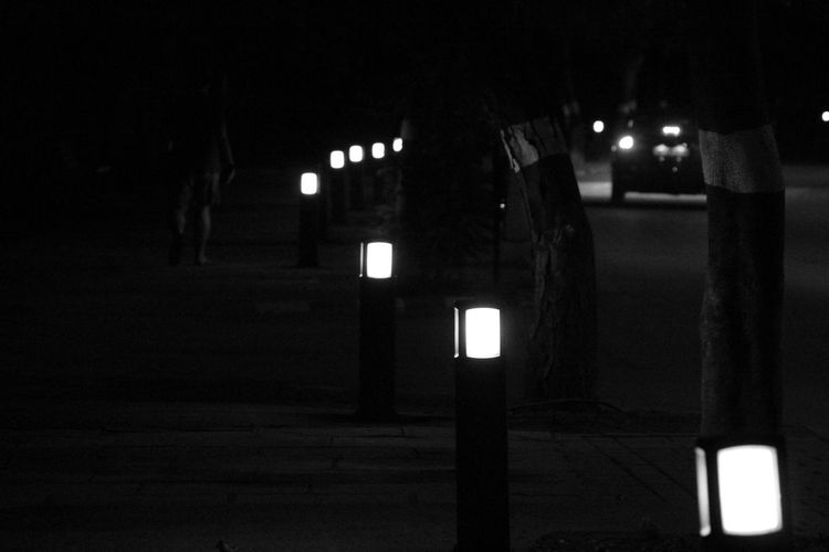 Just don't wait in the darkness, Look for the light, and you will find what you were looking for. Night Lights Night Photography Dreamy Glowing Illuminated Lightpath Night Night Beauty Slow Life Mix Yourself A Good Time The Week On EyeEm Black And White Friday Be. Ready. EyeEmNewHere