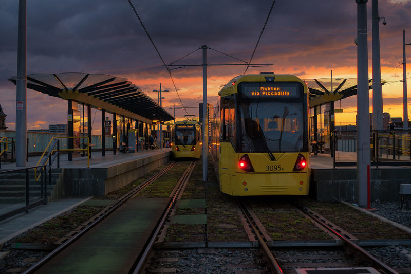 one of my familiarised angles in manchester. the tram station at the caslefield/deansgate is always equipped with this magical backdrop every evening. Daily Commute Commute Cityscape Manchester Skyporn Landscape Sunset Railroad Track Nightlife Cityscape Rail Transportation Steel Dusk Business Finance And Industry Arts Culture And Entertainment Public Transportation Railroad Station Platform Platform Train Station Railroad Station Passenger Train Metro Train