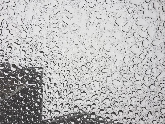 rain falls Rain Droplets Sunroof View First Eyeem Photo