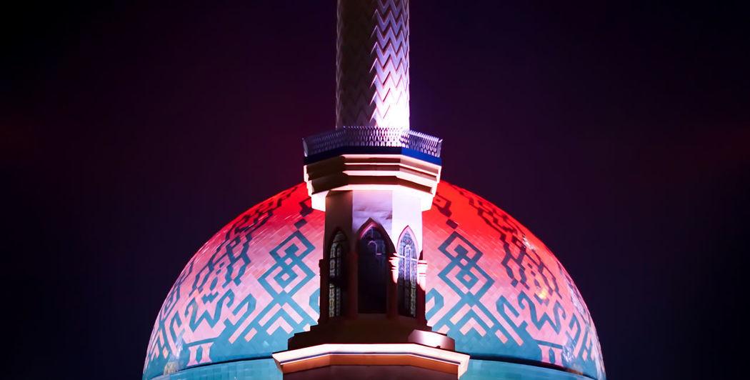Happy eid mubarak 1 syawal 1438 H No People Dome Politics And Government Night Outdoors Sky Mosque Mosque Architecture Islamic Center Eid Mubarak Eid Mubarak 2017 Architecture The Architect - 2017 EyeEm Awards