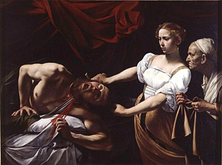 Girl Power Galleria Nazionale D'arte Antica JudithBeheadingHolofernes Judith Caravaggio Caravaggioexperience Seductive Seduction The Portraitist - 2017 EyeEm Awards