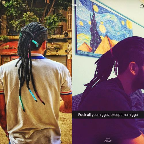 Art Painting Dreadlocks Indoors  Rear View Outdoors Real People Lifestyles Men Casual Clothing One Person Morning Walk IAmTheWolf