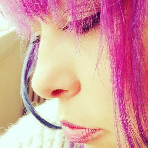 Raimbow Color Juste Moi ❤ Rainbowhair Hairstyle Kisses❌⭕❌⭕ Hair JustMe Kiss Dream