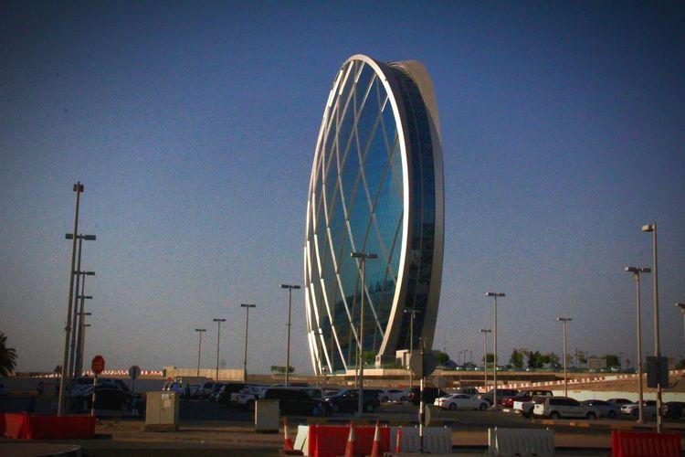 Abu Dhabi Architecture Modern Building Dubai United Arab Emirates