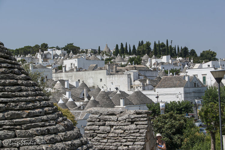 The magic of Alberobello's Trulli travel location - It was really amazing to know this particulars constructions full of charming and to ear the history about the Alberobello's Trulli in the Italy Apulia region (Puglia). The history said that the Alberobello's origins date back to the Middle Age. The settlers built the houses with stone and without cement and with the easiest way to demolish them in the case of an inspection by the Kingdom of Naples, thus avoiding paying taxes. Another interesting thing is the decorative pinnacles and symbols painted on many roofs of the trulli that were often used to identify the different religions of their inhabitants. Albelobelo Italia Viajes  2019 EyeEm Awards The Traveler - 2019 EyeEm Awards The Architect - 2019 EyeEm Awards The Photojournalist - 2019 EyeEm Awards The Street Photographer - 2019 EyeEm Awards Italy EyeEm Gallery EyeEm Best Shots Eyeem4photography Architecture Built Structure Building Exterior Building Sky Tree Clear Sky History Residential District The Past No People City Nature House Plant Travel Destinations Travel Ancient Day Tourism Outdoors Ancient Civilization TOWNSCAPE Roof Tile