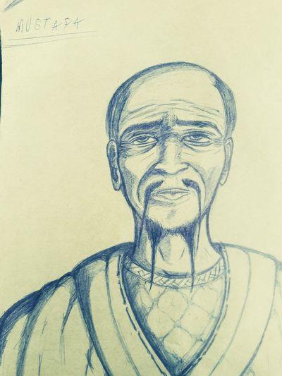 السلام عليكم ..... رسمت معلم نينجا طبعا من مخيلتي اتمنى يعجبكم......hi this is aninja master .my draw i hope you like it