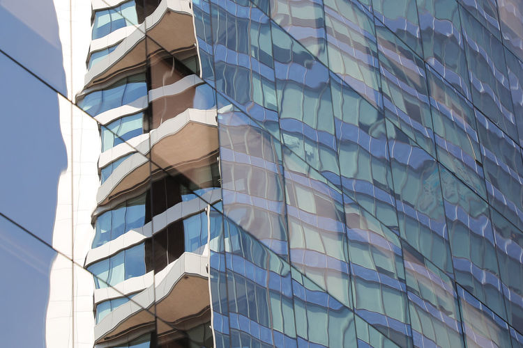 Building Exterior Built Structure Architecture Building Low Angle View Office Building Exterior Office Modern Day City Full Frame No People Window Glass - Material Reflection Pattern Outdoors Backgrounds Nature Design Skyscraper Apartment