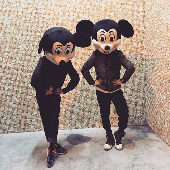 We are mickey! Mickey Mouse Happy Taking Photos Fun