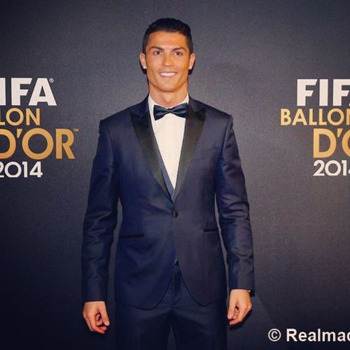 Cr7 ... FIFABALLON B'OR 2014 👆👆👆👌👌👌