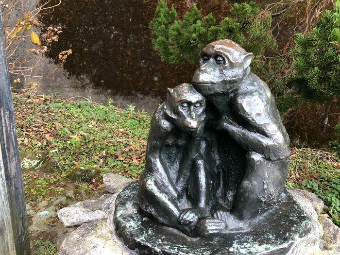 stone monkey Art And Craft Sculpture Statue Representation Nature Plant Human Representation Park