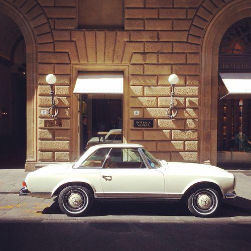 Classic Car Vintage Car Mercedes Mercedes-Benz Pagode Mercedes Sl Mercedes Benz W113 W113 Mercedes 280SL 280sl Firenze Florence Bottegaveneta Bottega Veneta