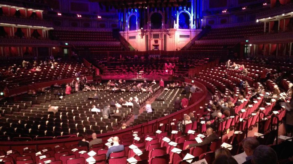 Albert Hall Interior