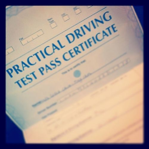 Three years too late, but I've finally passed my driving test!!!! Legal TheySeeMeRollin Goodbyeprovisional