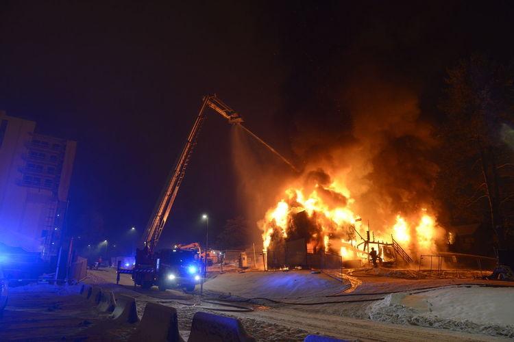 Fire Engine Flame Jessheim Norway🇳🇴 Politics Remi Presttun Brannan Brannmann Fire Fireman Flame Night Outdoors First Eyeem Photo