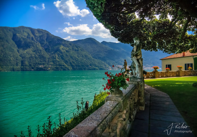 Villa Del Balbianello Mediterranean  Blue Day Lago Di Como Lake Nature No People Outdoors Shooting Location Sky Lago Di Como, Italy