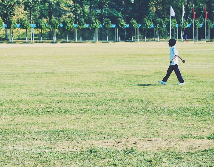 Outdoors One Person Full Length Grass Tree Child Males  One Boy Only Childhood People Day Nature Real People Young Adult Baseball - Sport Adult EyeEmNewHere