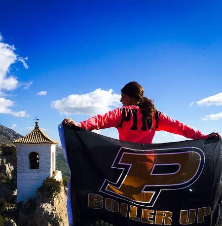 BoilerUp Castles Hello World Traveling Purdue SPAIN