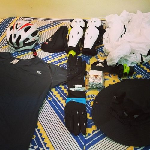 Trip Preparations Cycling Adventure life
