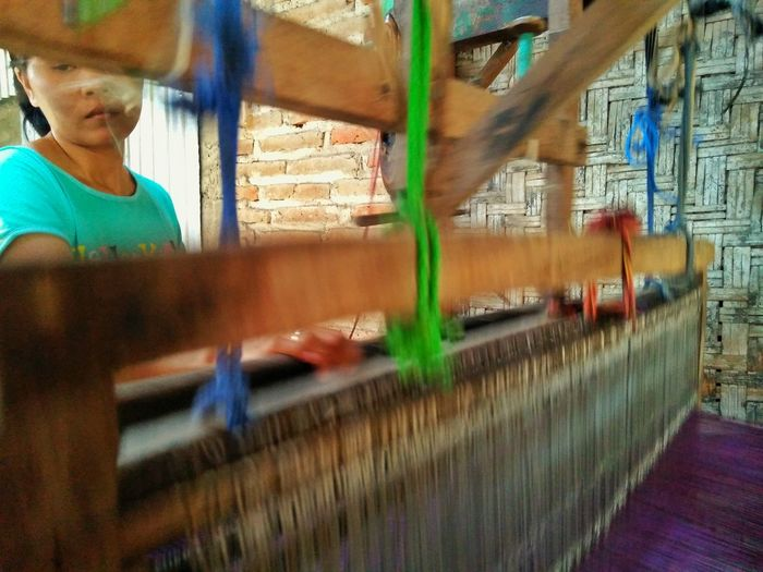 motion of tradition Multi Colored Clothes INDONESIA Tenun Ikat Indonesia World Traveller Tenun First Eyeem Photo KotaSolo Heritage Traditional Costume Traditional Clothing Indonesia Traditional
