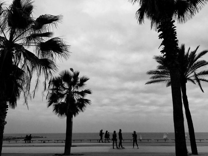 Barcelona Black And White Ilovebarcelona Happy :)