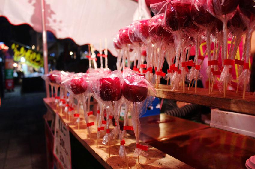 Apple Jam Celebration Close-up Day Freshness Hanging Illuminated Indoors  Japanese Food No People Sweet Food