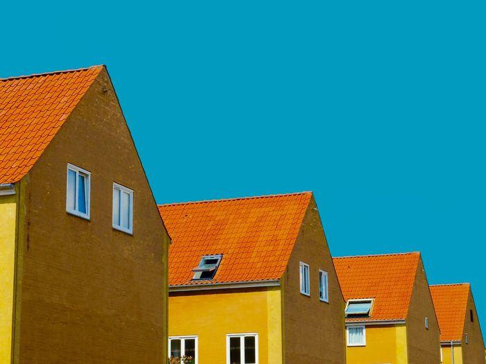 Architectural Detail Architecture Architecture_collection Architecturelovers Blue Blue Sky Copenhagen Copenhagen Skyline Copenhagen, Denmark Cph Street Photography UrbanART Urbanism Urbanismo Yellow
