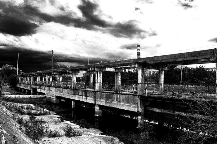 Black&white Black And White D90 Nikon Blackandwhite Grunge LarkinDm Adygeya Krasnodar Region завод