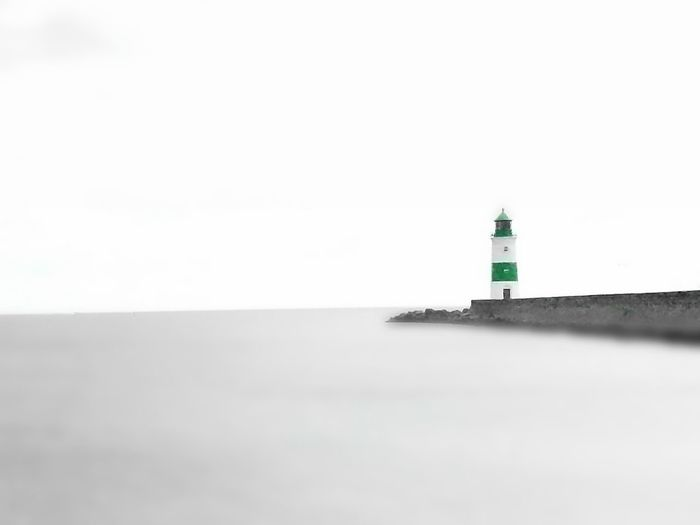No People Calm Freedoom  Lighthouse And Sea Sea Side Beauty In Nature Norddeutschland Schleswig-Holstein Horizon Over Water Einsamkeit Finding New Frontiers Cloud - Sky Lighthouse