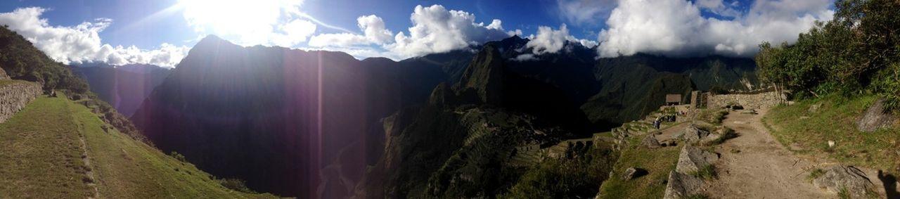 Macchu Picchu Macchupicchu Walking Around Peru
