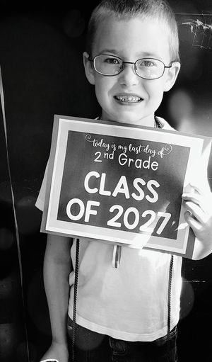 Child Looking At Camera Portrait Waist Up One Boy Only Smiling Childhood Happiness Eyeglasses  Milenamulskephotography Children Of The World Check This Out School Last Day Of School Class Of 2027 2nd Grade GrowingUp My Son Is My World Eyeem Children's Portraits Momswithcameras School Children The Portraitist - 2017 EyeEm Awards EyeEm Selects